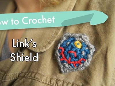 How to Crochet Link's Shield
