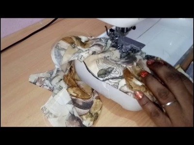 How to cut and stitch frill sleeves in Hindi  | Baju ki Cutting and stitching