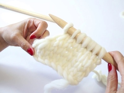 HOW TO KNIT TWO STITCHES TOGETHER | WE ARE KNITTERS