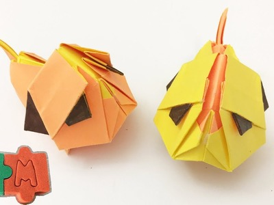 How to Make 3D Paper Pug Dog | Origami