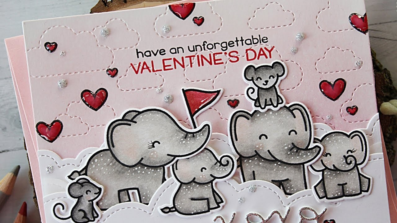 How to make a Valentine's Day card