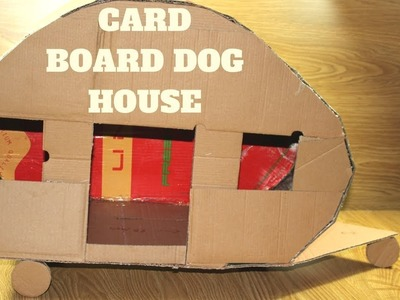 How to Make Amazing Puppy Dogs House From Cardboard