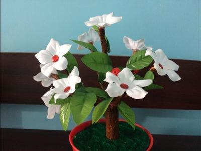 How to make artificial  bonsai tree. DIY room decor ideas.