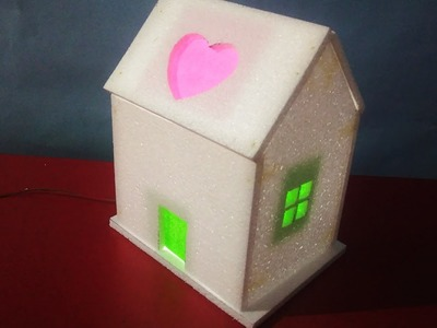 How To Make Awesome Thermocol House | School Project For Kids | Small Thermocol House