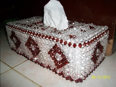 How To Make Beaded || Tissue Box Part One(1)