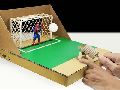 How to Make Desktop Soccer Game from Cardboard