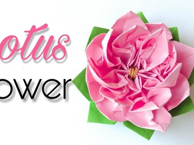 How diy how to make a paper flower diy how to make a paper flower how to make paper lotus flowerdiy mightylinksfo
