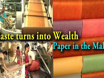 How to make Recycled Paper - Waste turns into Wealth