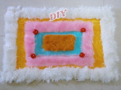 How to make Rug, floor mat, door mat and carpet using old fur