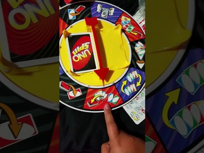 How to play uno spin????