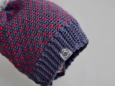 How to sew tags to beanies (or handmade items)