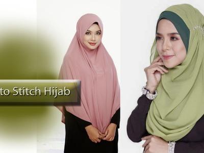 How to Sittch Hijab (হিজাব সেলাই )