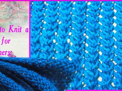 Knitting Basics: How to Knit a Scarf