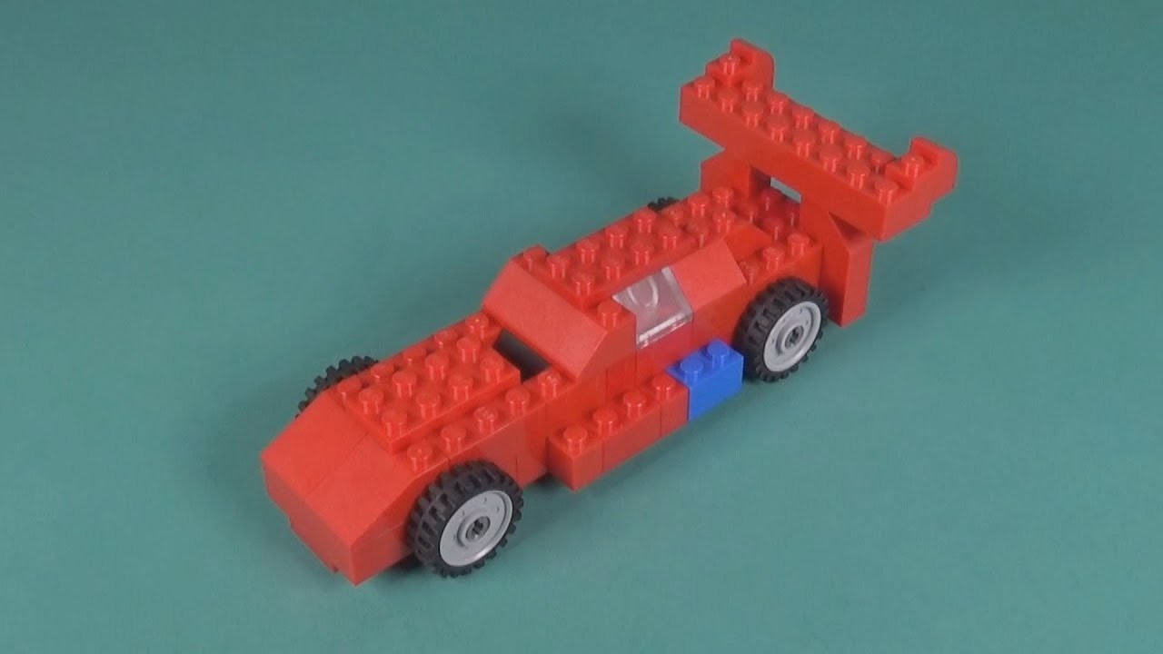 Lego Race Car 007 Building Instructions Lego Classic How To