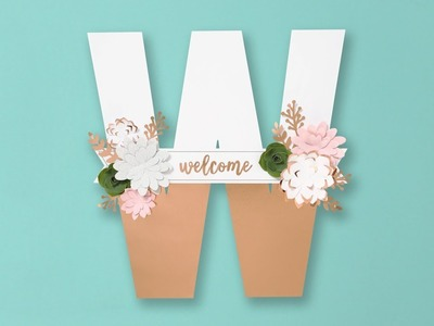 Love Letters DIY Monogram Kits from Close To My Heart