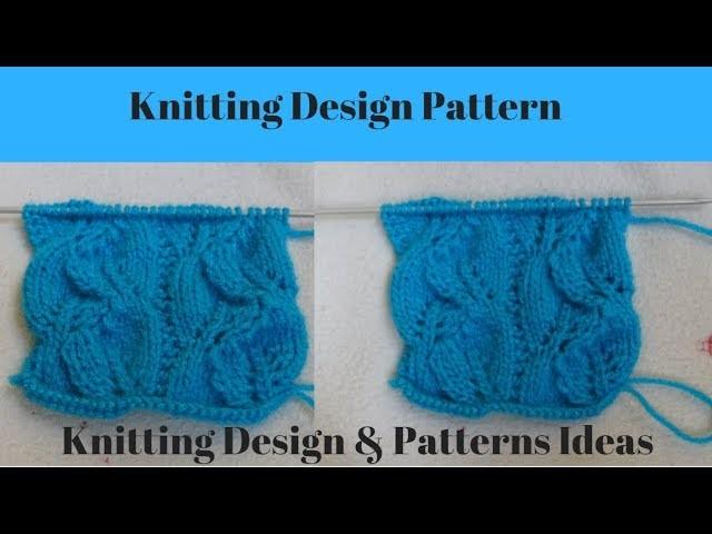 New Beautiful Knitting Pattern Design || In Hindi || New Beautiful Knitting Pattern Design Video.
