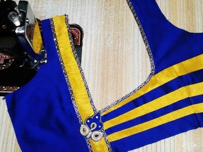 New model blouse design (DIY) Latest blouse back neck designs