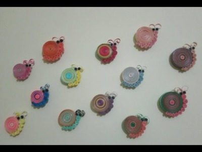 Super easy wall decoration idea with Quilling art