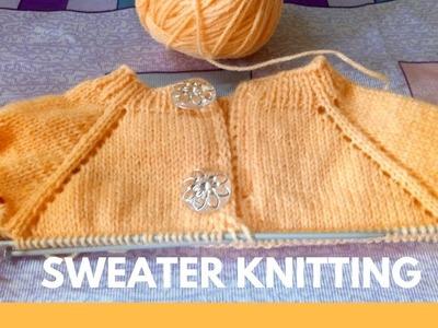 Sweater Knitting Full Tutorial Part 1