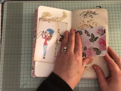 Travelers notebook In a stuffed paper bag