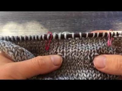 Tuck Stitch Knitting Tutorial