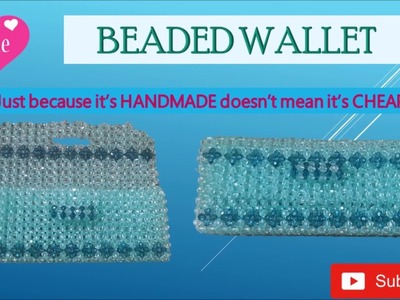 TUTORIAL HOW TO MAKE BEADED WALLET????