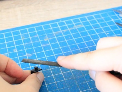 Tutorial: How to Remove Nubmarks and Flashes for your Model Kit