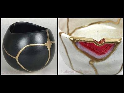 What is Kintsugi Art and Process? How is Kintsugi Repair Made?  Kintsukuroi Lesson and Metaphor