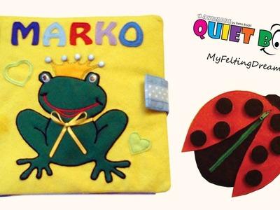 38. Quiet book for Marko - handmade by Petra Radic, My Felting Dreams
