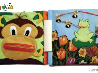 39. Quiet book for Franko - handmade by Petra Radic, My Felting Dreams