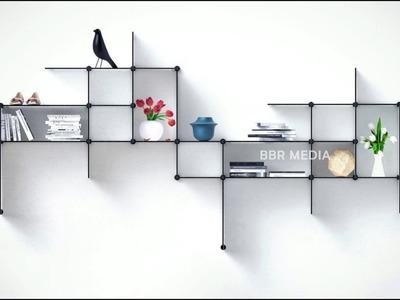 Creative Wall Shelves Ideas - 2018   Diy Wall Shelves Design Ideas