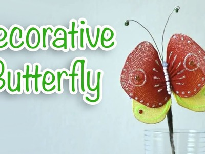 Decorative Butterfly - Ana | DIY Crafts