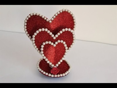 DIY Beautiful Heart showpiece. Gifts Ideas 2018.Beautiful Heart showpiece