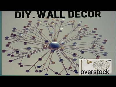 DIY GLAM STARBURST WALL DECOR.OVERSTOCK INSPIRED WALL ART.CHEAP N EASY FIREPLACE.BEDROOM.LIVING ROOM
