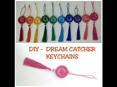 DIY -  JEWELLERY TUTORIAL 18 || How to make DREAM CATCHER