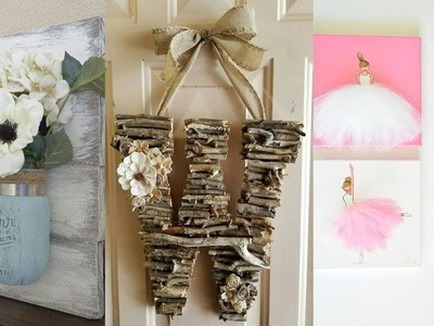 DIY ROOM DECOR! 20 Easy Crafts Ideas at Home
