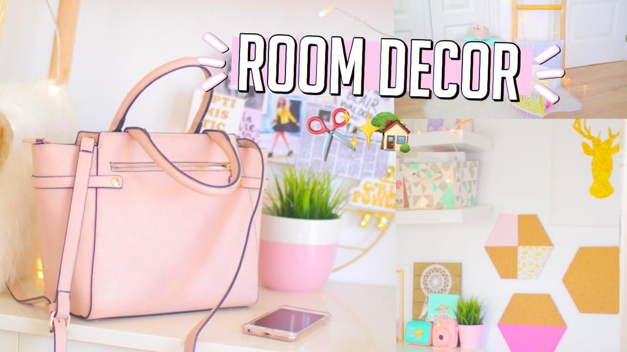 DIY Room Decor for 2018!! || Makeupgirl21