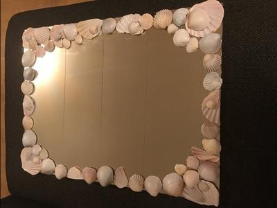 DIY sea shells home decoration part 2