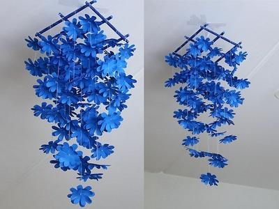 DIY Simple Home Decor - Hanging Flowers 4 - Handmade Decoration