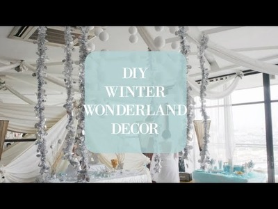DIY: WINTER ONEDERLAND PARTY | (affordable decorations and game ideas!)