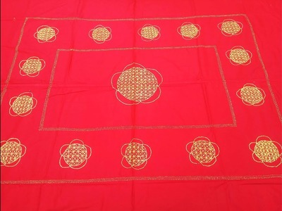 Hand Embroidery New Nakshi katha design video Tutorial।বাংলাদেশি নকশী কাথার ডিজাইন.