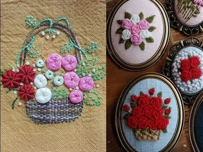 Hand embroidery stitch designs easy designs 2018 by humaria arts