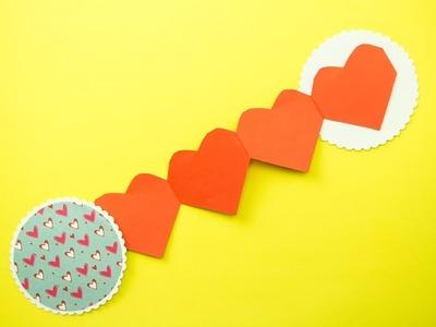 Heart Chain Card Tutorial