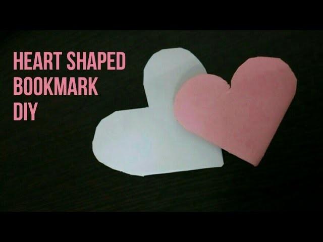 Heart shaped Bookmark DIY ♥