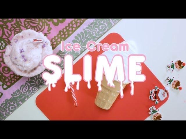How To Make an Instagram Perfect Ice Cream Slime - EZPZ ideas