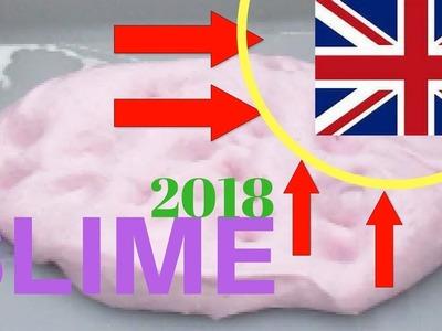 How to make SLIME NO BORAX (2018) UK! [HD]