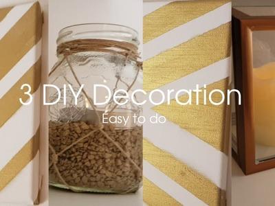 افكار ديكور سهلة و بسيطة | Easy DIY Decoration
