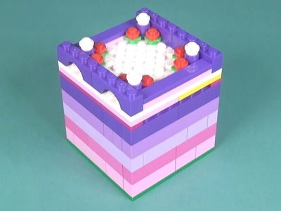 Lego Jewelry Box (001) Building Instructions - LEGO Classic How To Build - DIY