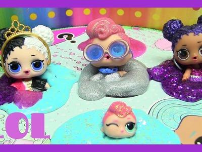 LOL Big Sister SURPRISE Dolls | SlimyGloop DIY Slime KIT SILVER. Mystical | Rainbow Collector