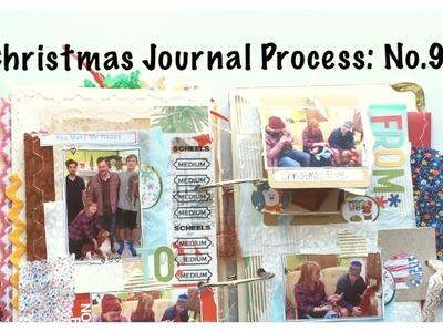 Mini Christmas Album: Holiday Junk Journal With Me Part 9:  Unique Scrapbook